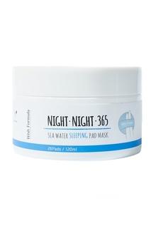 Восстанавливающие Ночные диски для лица / All in one Boosting Pad Mask 365, 26 шт  120 ml Wish Formula