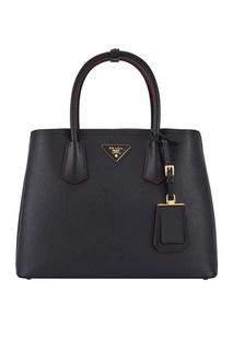 Кожаная сумка Double Bag Prada