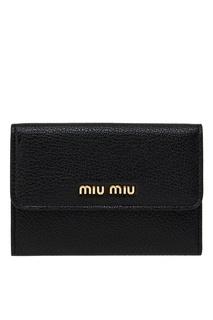 Кожаный кошелек Miu Miu