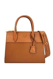 Кожаная сумка Paradigme Prada