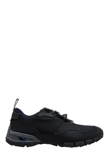 Черные кроссовки из текстиля Prada