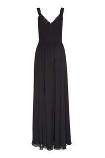Черное платье-макси Laroom