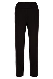 Черные брюки из шерсти Prada
