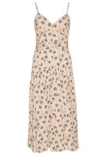 Шелковое платье-комбинация с поясом Prada