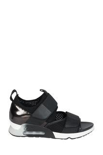 Черные сандалии с сеткой Lunatic Ash