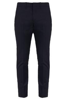 Укороченные черные брюки Prada