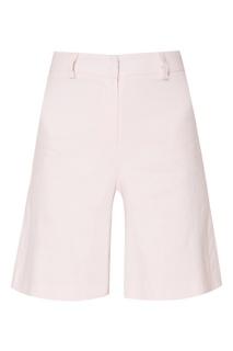 Льняные шорты розового цвета Rudy Amina Rubinacci