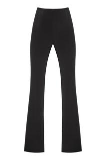Черные брюки с эффектом клеш Opera Lungo Amina Rubinacci