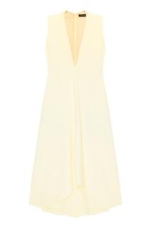 Платье со складкой спереди Chapurin