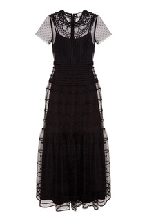 Вечернее платье из вышитой сетки RED Valentino