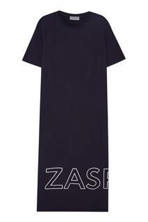 Длинное платье из хлопка Zasport
