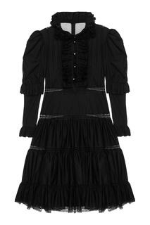 Платье с оборками Natasha Zinko