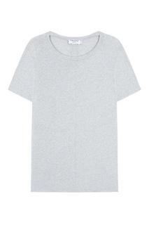 Хлопковая футболка Frame Denim