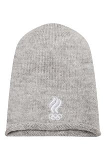 Вязаная шапка с вышивкой Zasport