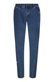 Синие укороченные джинсы Akhmadullina Dreams