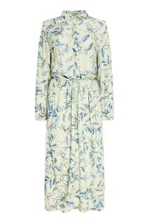 Платье-рубашка с акварельным принтом Akhmadullina Dreams