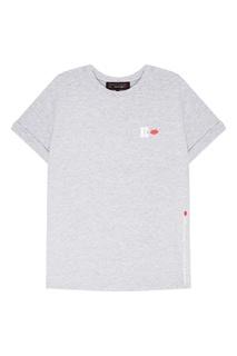 Серая меланжевая футболка Terekhov Girl