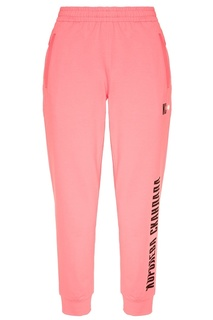 Розовые брюки с надписью Terekhov Girl