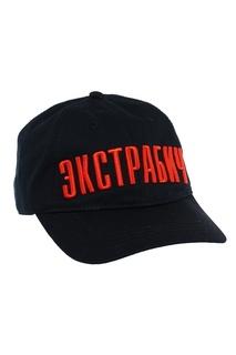 Черная бейсболка с вышивкой Terekhov Girl