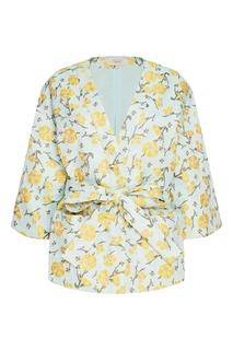 Жакет-кимоно из жаккарда с цветами Akhmadullina Dreams