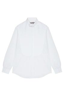 Белая сорочка с потайной застежкой Canali