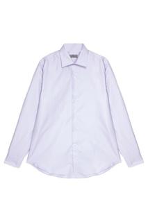 Хлопковая сорочка лавандового цвета Canali