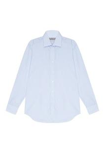 Хлопковая сорочка в тонкую полоску Canali