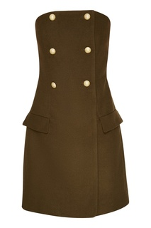 Зеленое короткое платье T Skirt