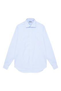 Классическая сорочка голубого цвета Canali