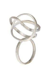 Серебряное кольцо-сфера Joidart Barcelona
