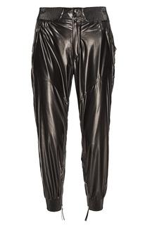 Черные шелковые брюки Isabel Marant
