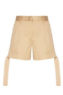 Хлопковые шорты с завязками Moncler