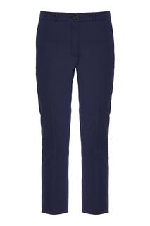 Укороченные брюки с разрезами Erika Cavallini