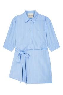 Рубашка в пижамном стиле Erika Cavallini