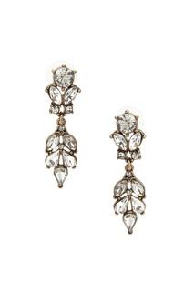 Серьги с кристаллами Ruby Novich