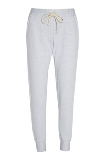 Меланжевые брюки из хлопка Lisa&Leo