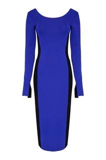Комбинированное платье-футляр Diane von Furstenberg