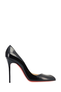 Черные лакированные туфли Corneille 100 Christian Louboutin