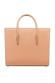 Коричневая кожаная сумка Paloma Large Christian Louboutin