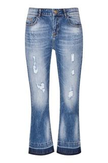 Голубые джинсы с потертостями Essentiel Antwerp