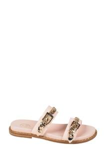 Розовые сандалии с цепочками Meika Ash
