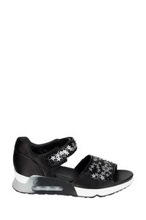 Черные сандалии со звездами Lotus Star Ash