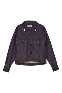 Джинсовая куртка oversize Fendi