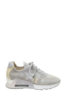 Текстильные кроссовки со звездами Lucky Star Ash