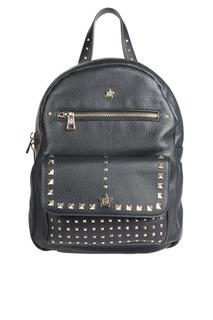 Черный рюкзак с заклепками Sarah Backpack Ash