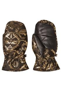 Перчатки из жаккарда с узорами Fendi
