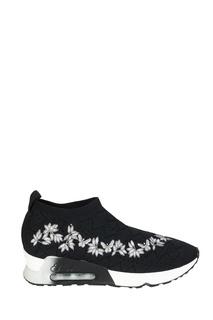 Тканевые кроссовки с вышивкой Lolita Ash