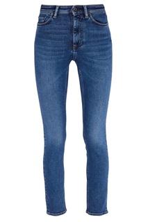 Синие вареные джинсы Acne Studios