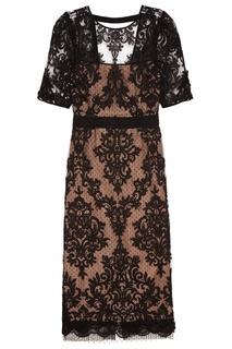 Кружевное платье-футляр No.21