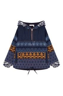 Комбинированная куртка с узорами See By Chloé
